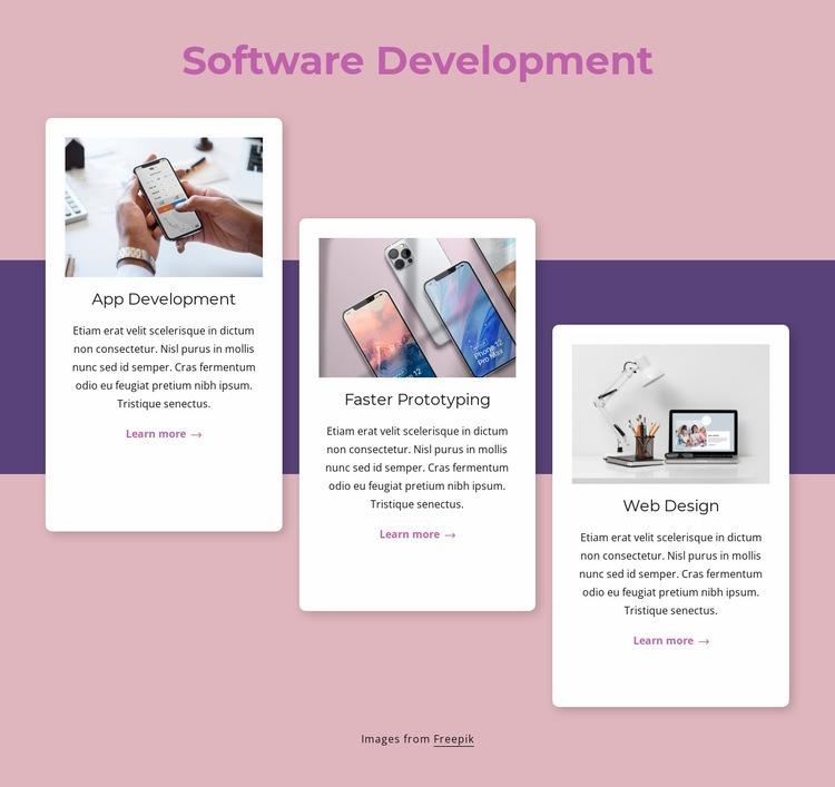 Cloud-native software development Html Code Example
