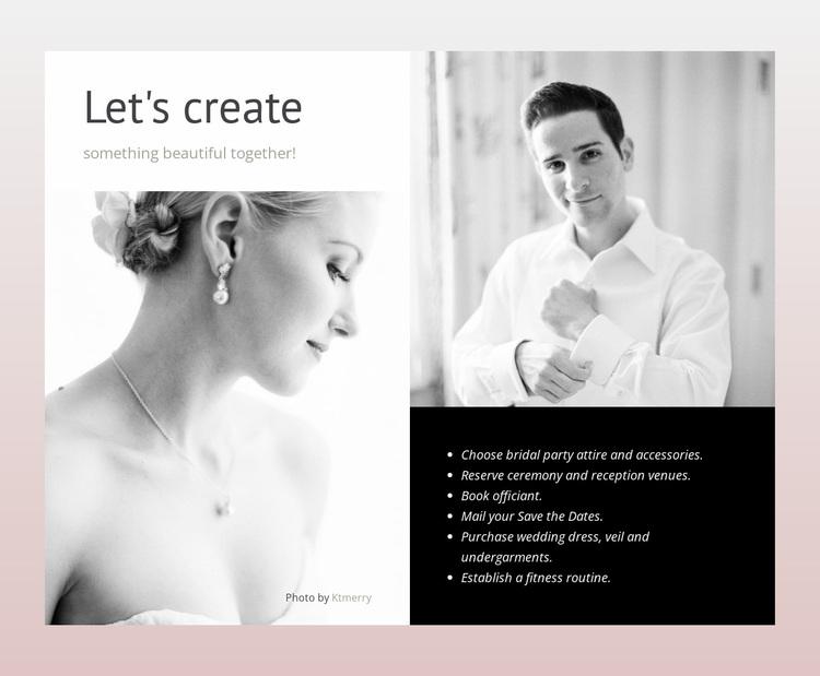 Make planning easier Website Design