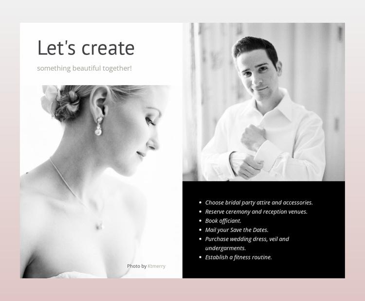 Make planning easier Website Template