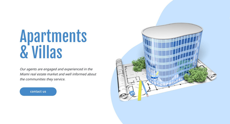 Commercial real estate HTML5 Template