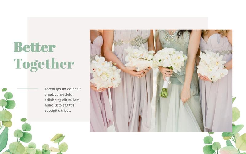 Dresses with gorgeous details Web Page Design