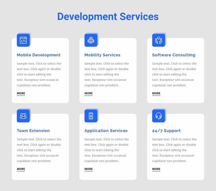 Web app development Html Code Example