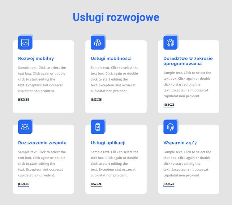 Tworzenie aplikacji internetowych Szablon witryny sieci Web