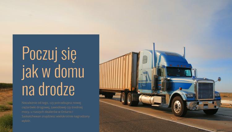 Operator logistyki pojazdów Szablon Joomla