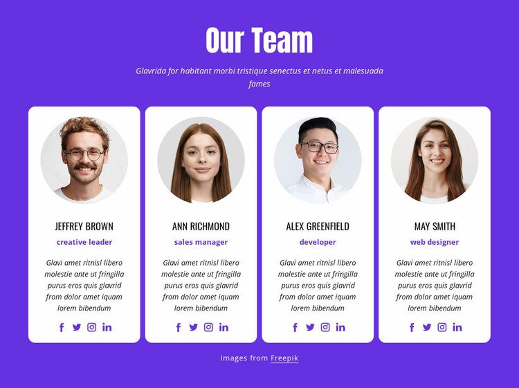 Web designers and web developers Website Builder Templates