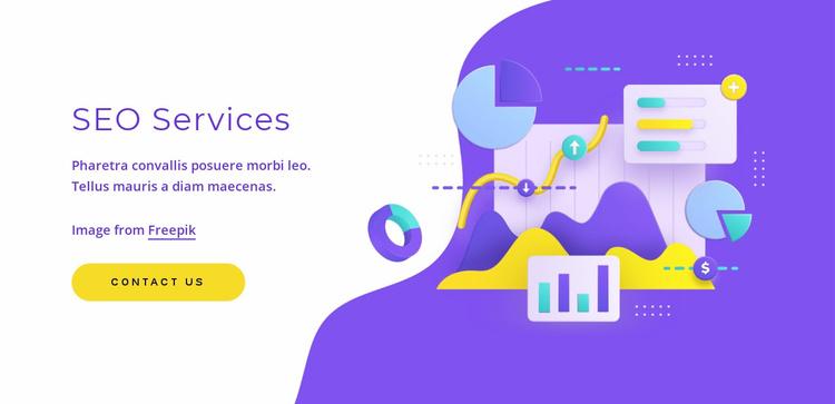 SEO services Website Template