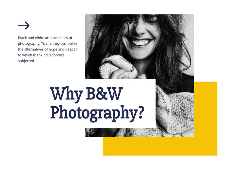 Photography class Website Maker