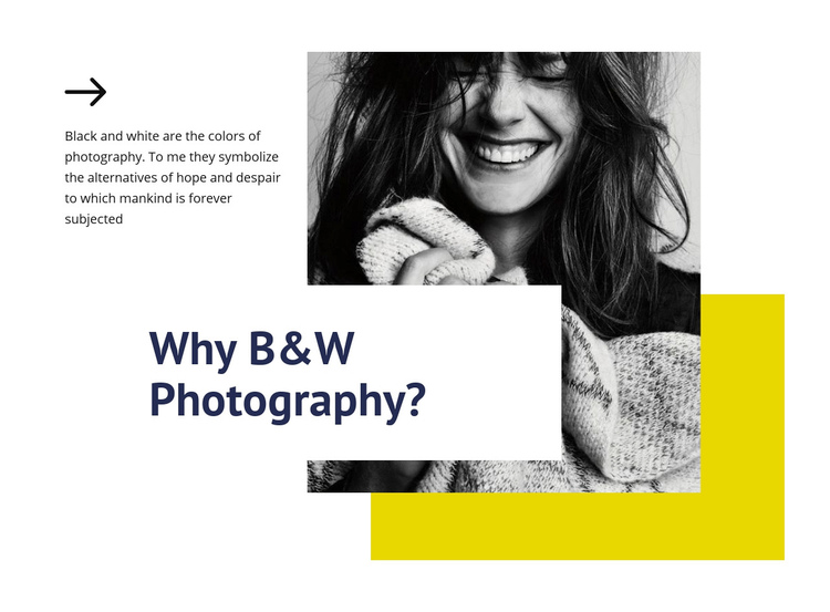 Photography class Landing Page
