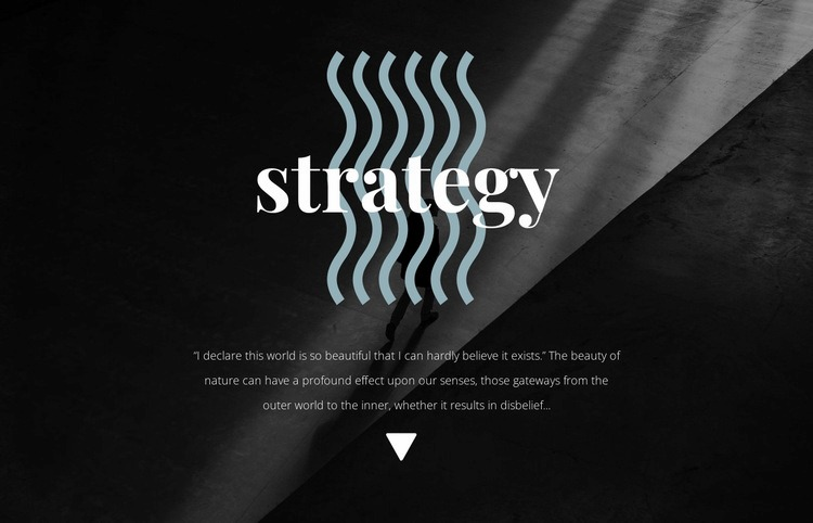 Strategy Html Code Example