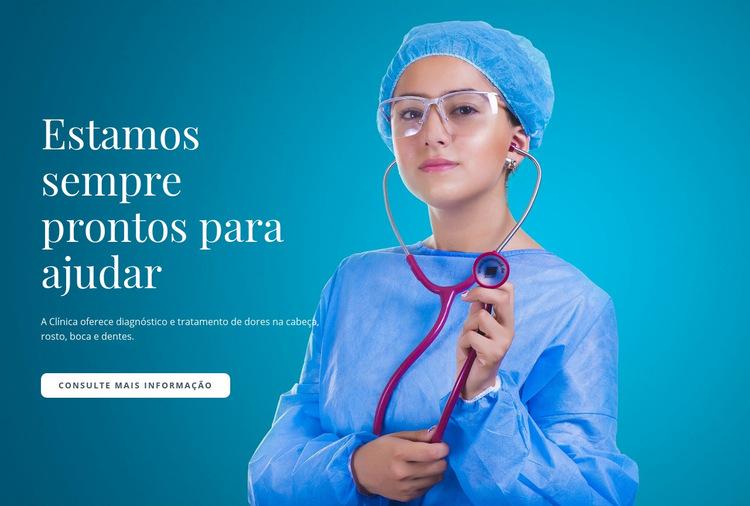 Assistência Médica Express Modelo de site
