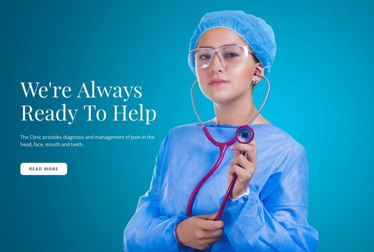 Express Medical Care Website Mockup