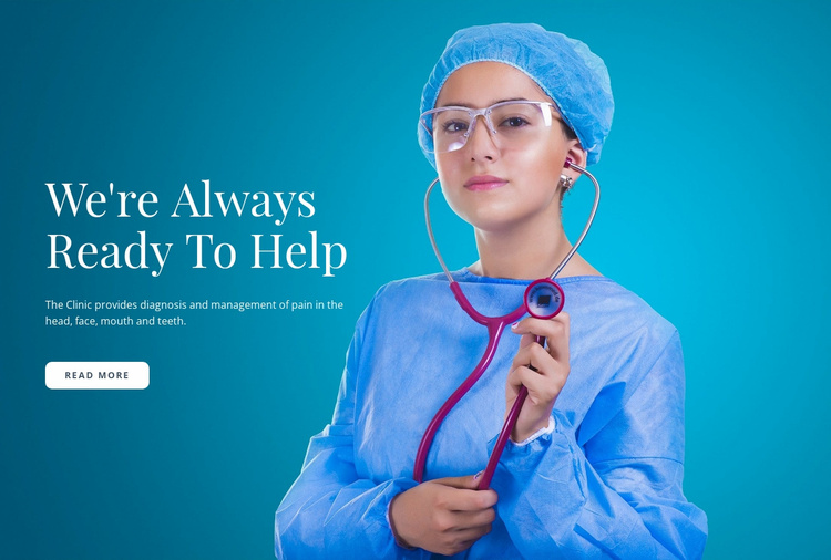 Express Medical Care Website Template