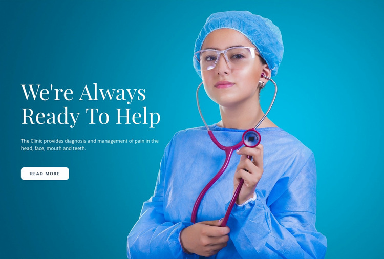 Express Medical Care WordPress Website Builder