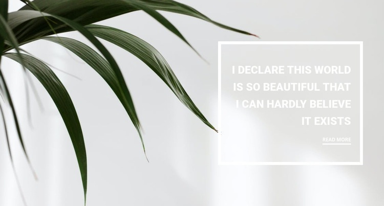 Houseplants Web Page Designer