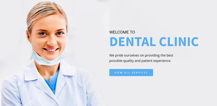 Dental Clinic Website Builder