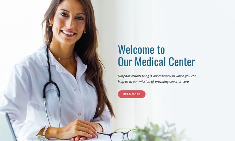 Medicare programs Website Template