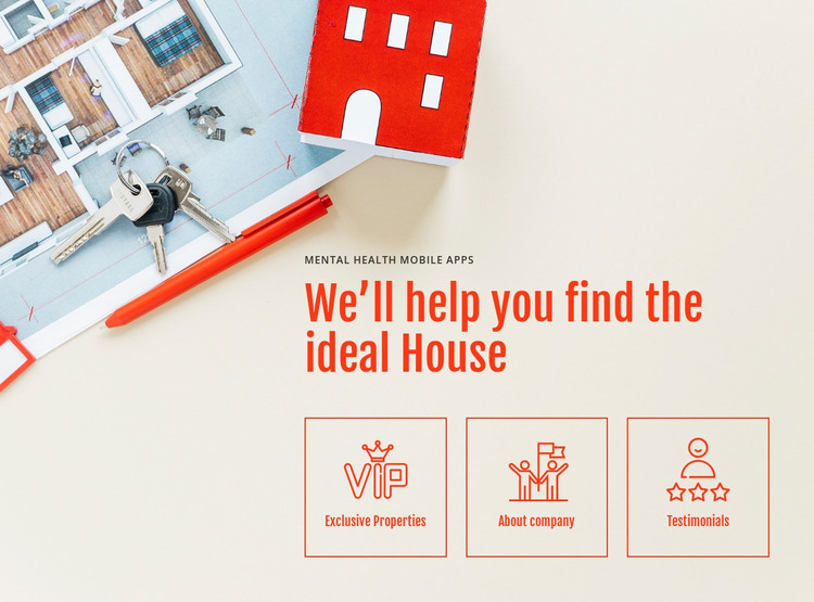 Leading real estate company HTML Template