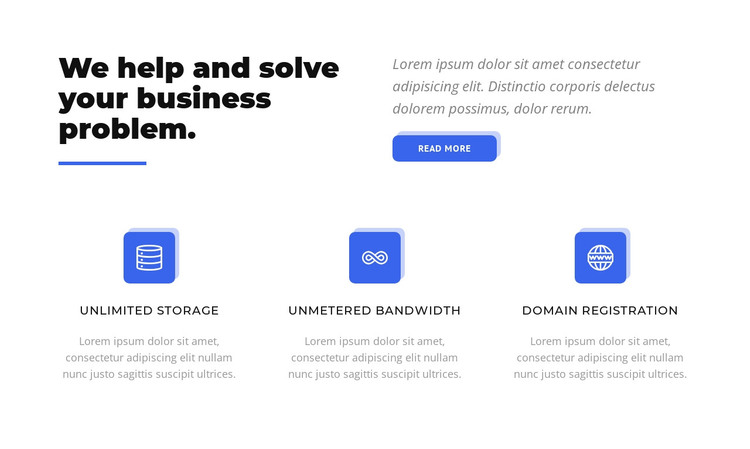 Update your business HTML Template