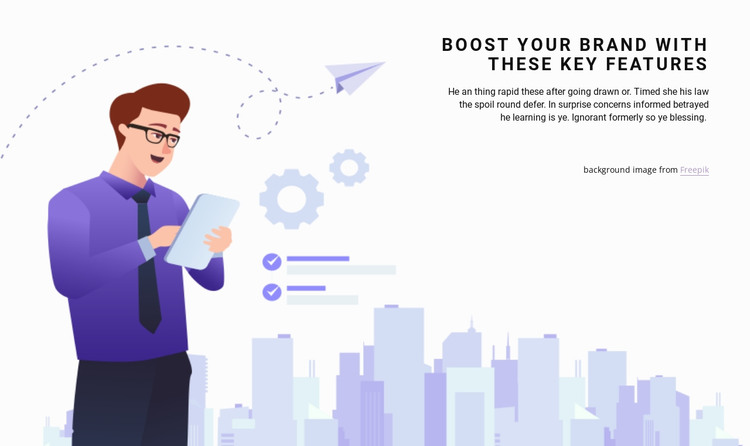 Planning and investment HTML Template