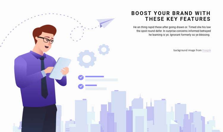 Planning and investment WordPress Theme