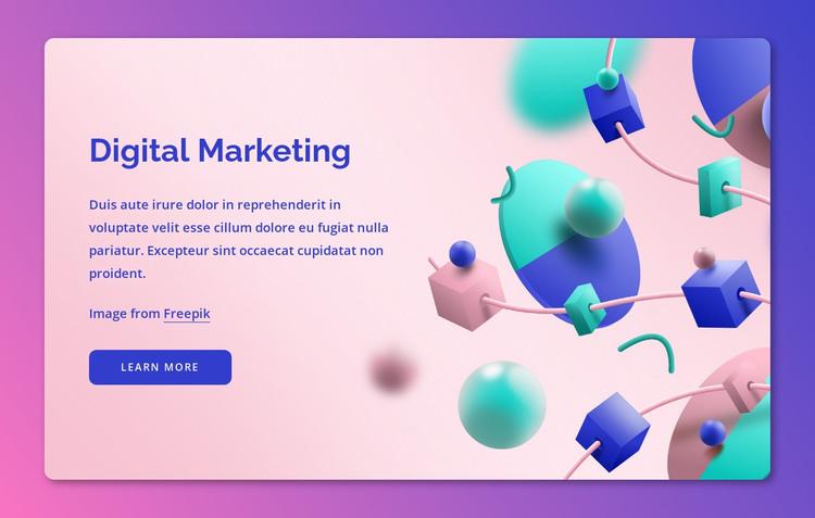 Leading digital agency HTML Template
