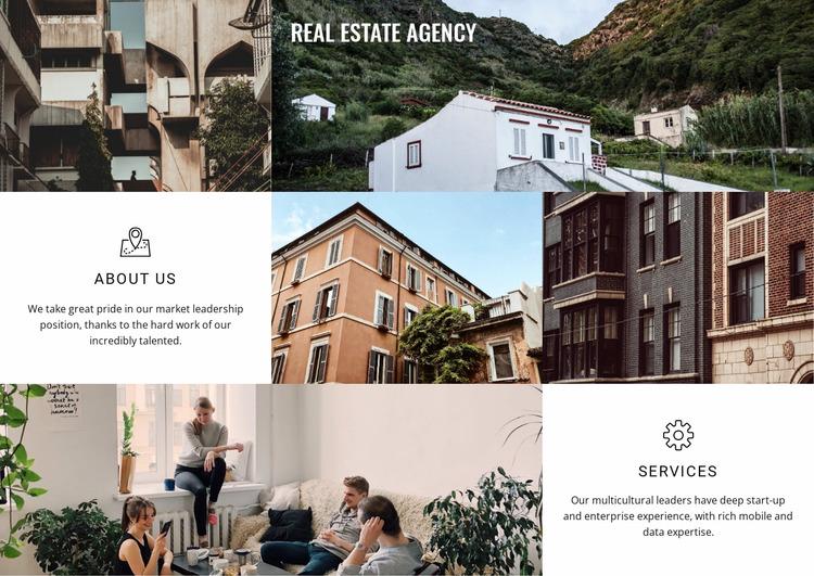 Real estate agency Html Website Builder