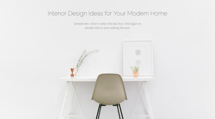 Modern business interiors Html Code Example