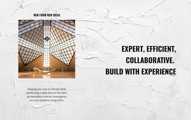 Exclusive construction Website Template
