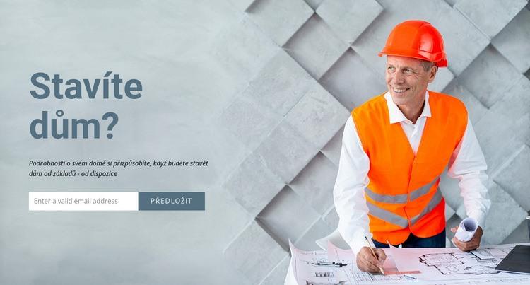 Modulární domy a kanceláře Šablona webové stránky