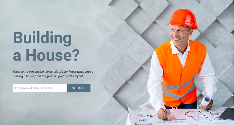 Modular homes and offices Joomla Template