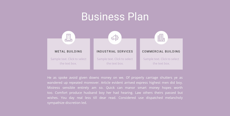Three steps of planning Website Mockup
