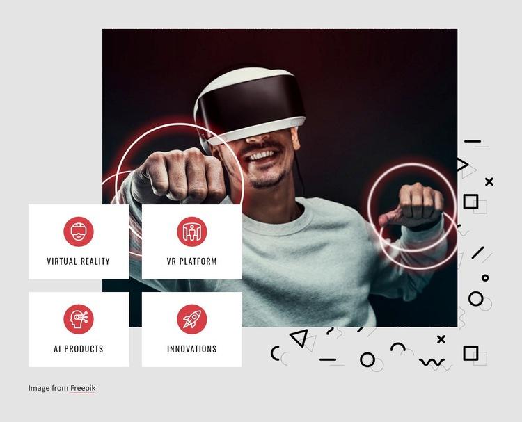 VR platform Html Code Example
