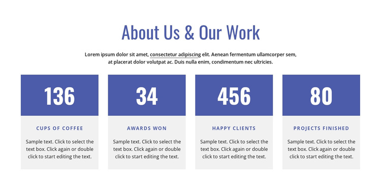 About our firm Joomla Template