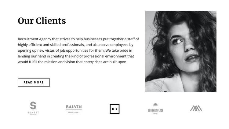 Our favorite clients Web Page Designer