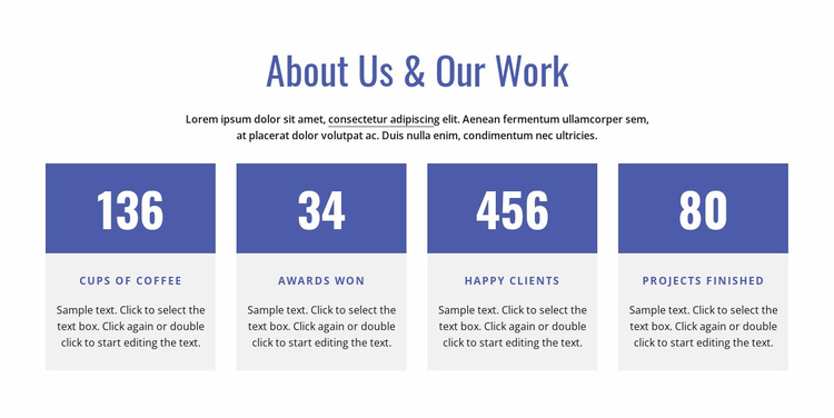 About our firm Website Template