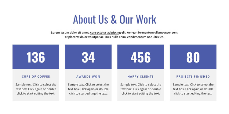 About our firm WordPress Theme