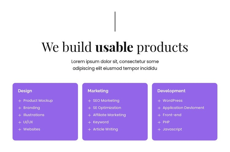 We build IT innovations Html Code Example