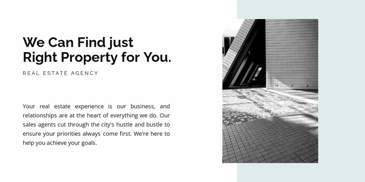 Text picture and shape Website Template