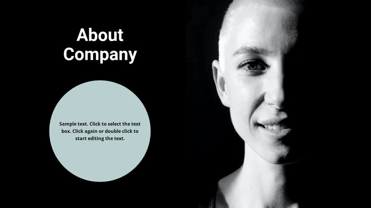 About the creator of the idea HTML Template