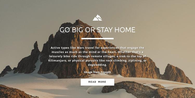 Everybody wants to reach the peak Website Design