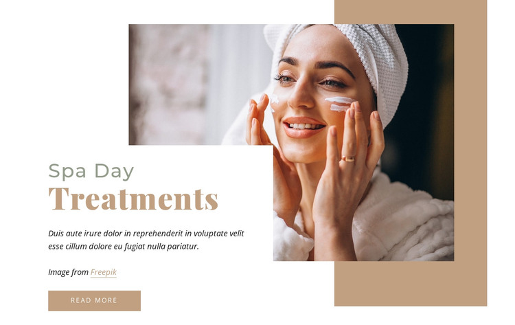 Spa days HTML Template