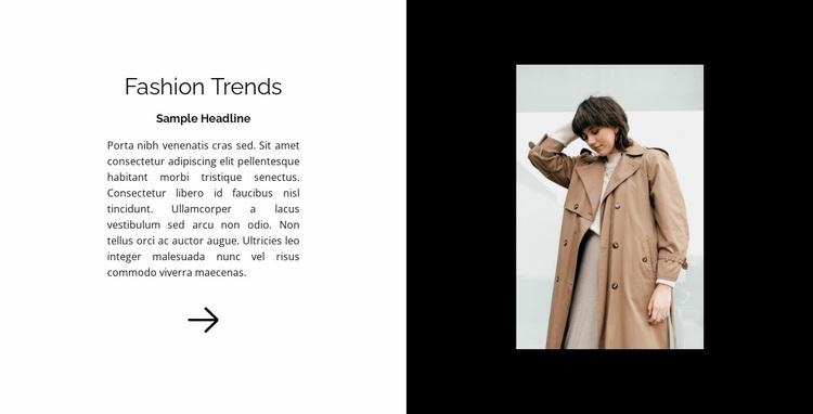 New in fashion Website Design