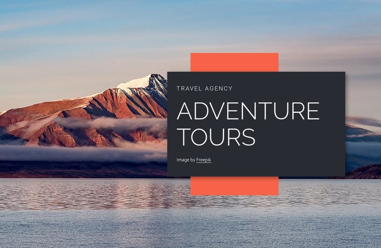 Browse our tours Website Builder Templates