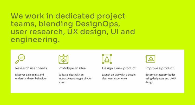 UI and UX design Website Mockup