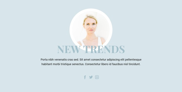 Beauty Industry Trends CSS Template