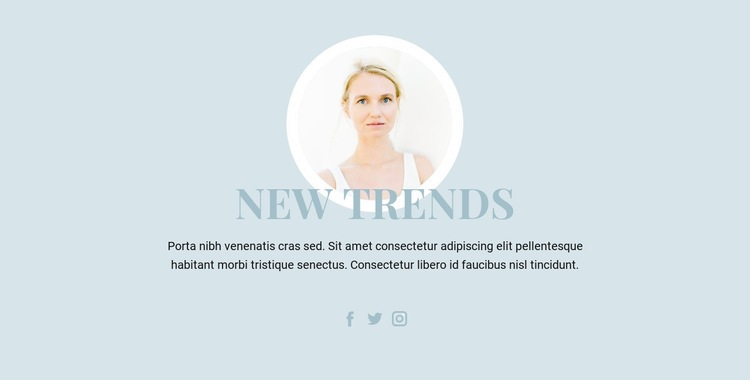 Beauty Industry Trends Html Code Example