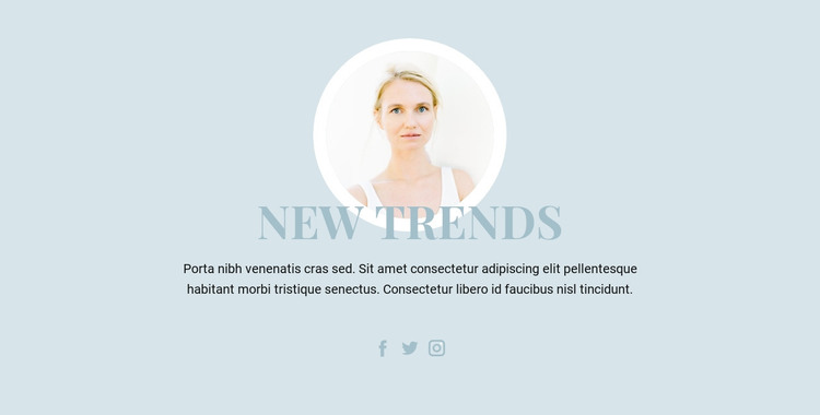 Beauty Industry Trends HTML Template