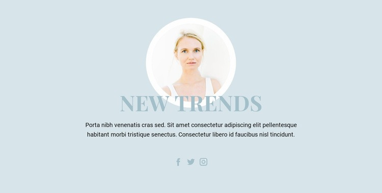 Beauty Industry Trends Web Page Designer