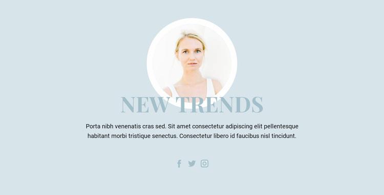 Beauty Industry Trends Website Design