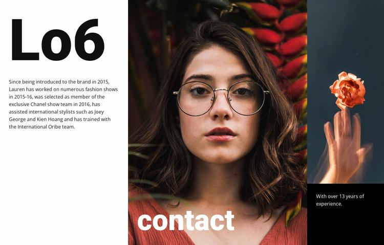 Creative studio contact Website Design
